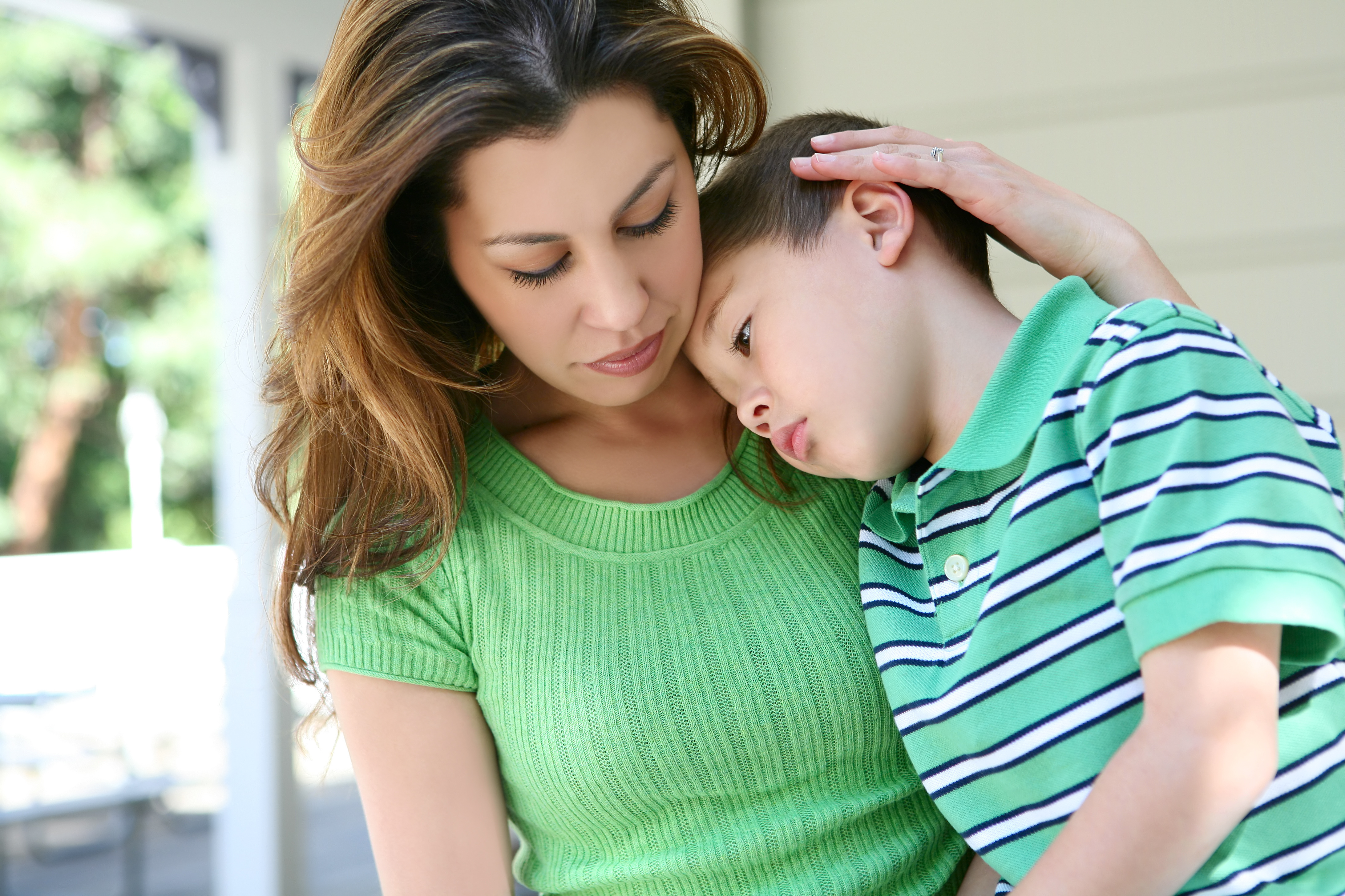 the impact of single parenting on a childs behavior