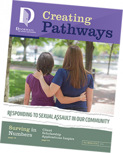 Doorways' Fall 2015 Newsletter cover