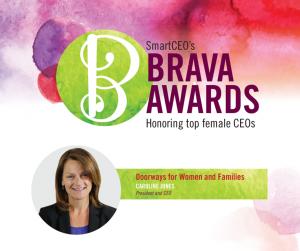 Caroline's 2015 Brava Award (for Facebook)